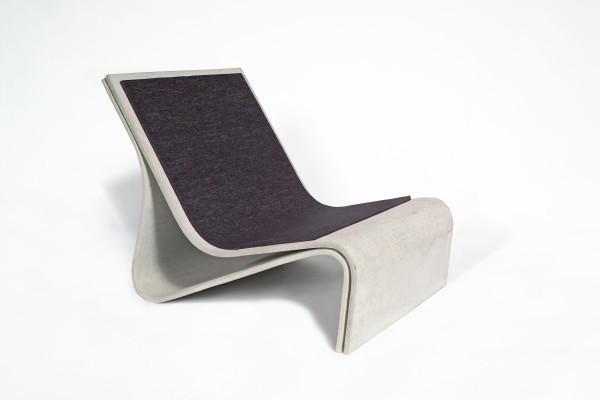Eternit Kissen zu Sponeck Stuhl anthrazit