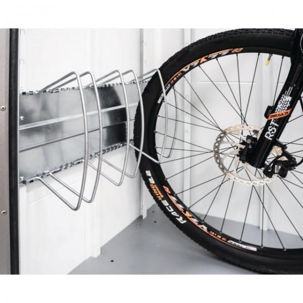 Biohort Fahrradständer-Set für StoreMax 190 inkl. Regalsteher